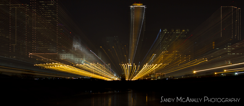 Fort Worth Skyline - Zooming
